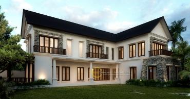 Jasa Arsitek Desain Rumah Mewah Style Klasik Modern di Jakarta