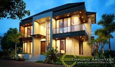 Jasa Arsitek Jakarta Desain Rumah 2 Lantai