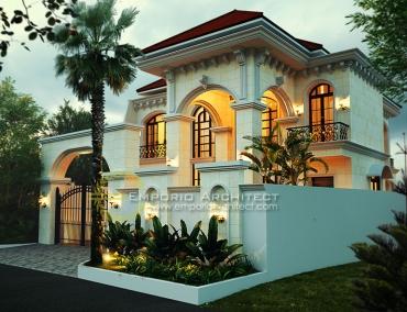 Jasa Arsitek Rumah Klasik Mediteran di Jakarta