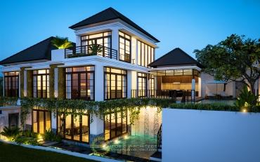 Jasa Arsitek Rumah Mewah Villa Bali di Jakarta