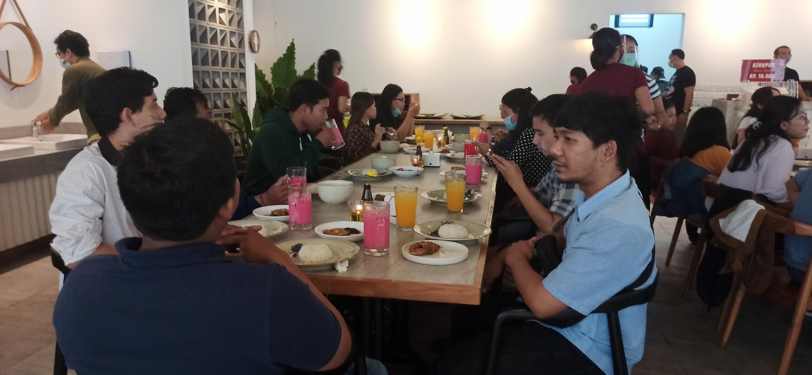 Gathering Event with Emporio Architect Bali Team at IGOR Renon 5