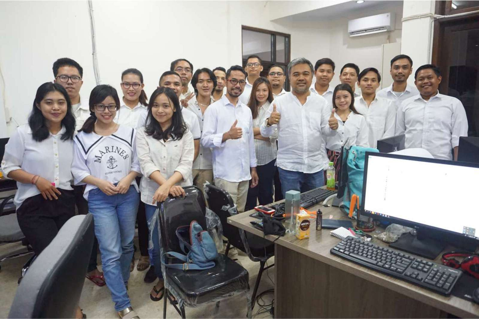 Photo with the Emporio Bali Architect Team Before Working From Home Because of the COVID-19 Virus Pa 1