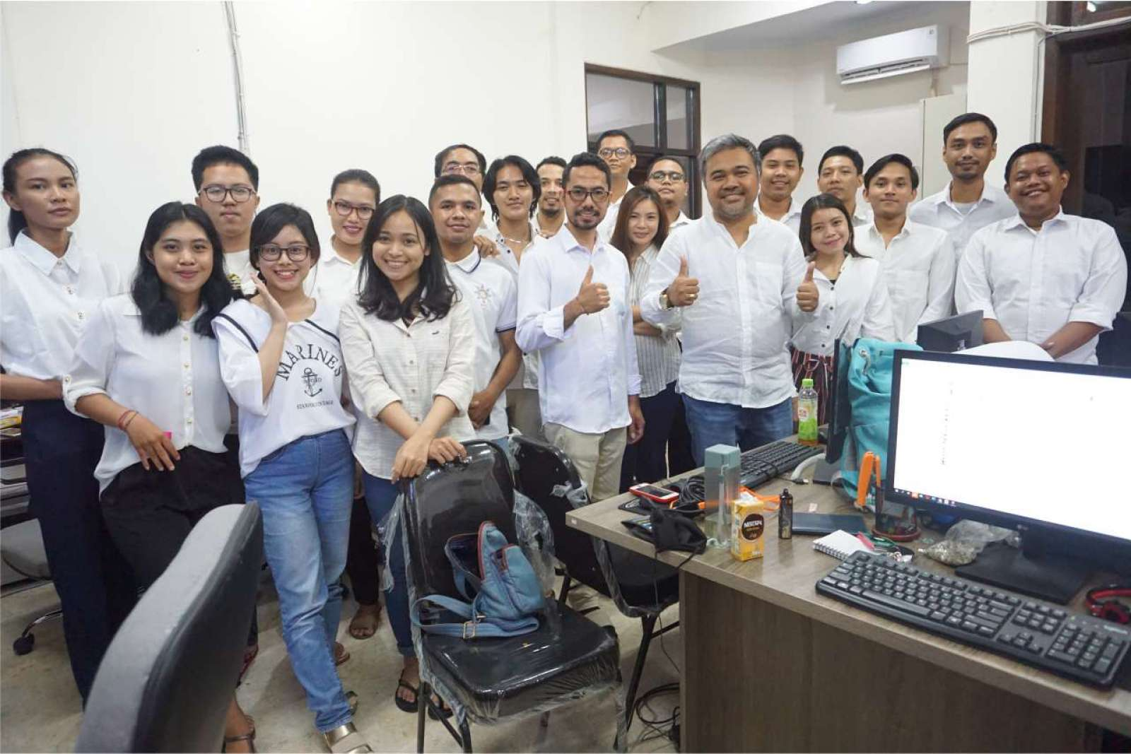 Photo with the Emporio Bali Architect Team Before Working From Home Because of the COVID-19 Virus Pa 2