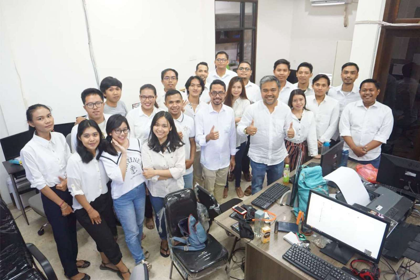 Photo with the Emporio Bali Architect Team Before Working From Home Because of the COVID-19 Virus Pa 3
