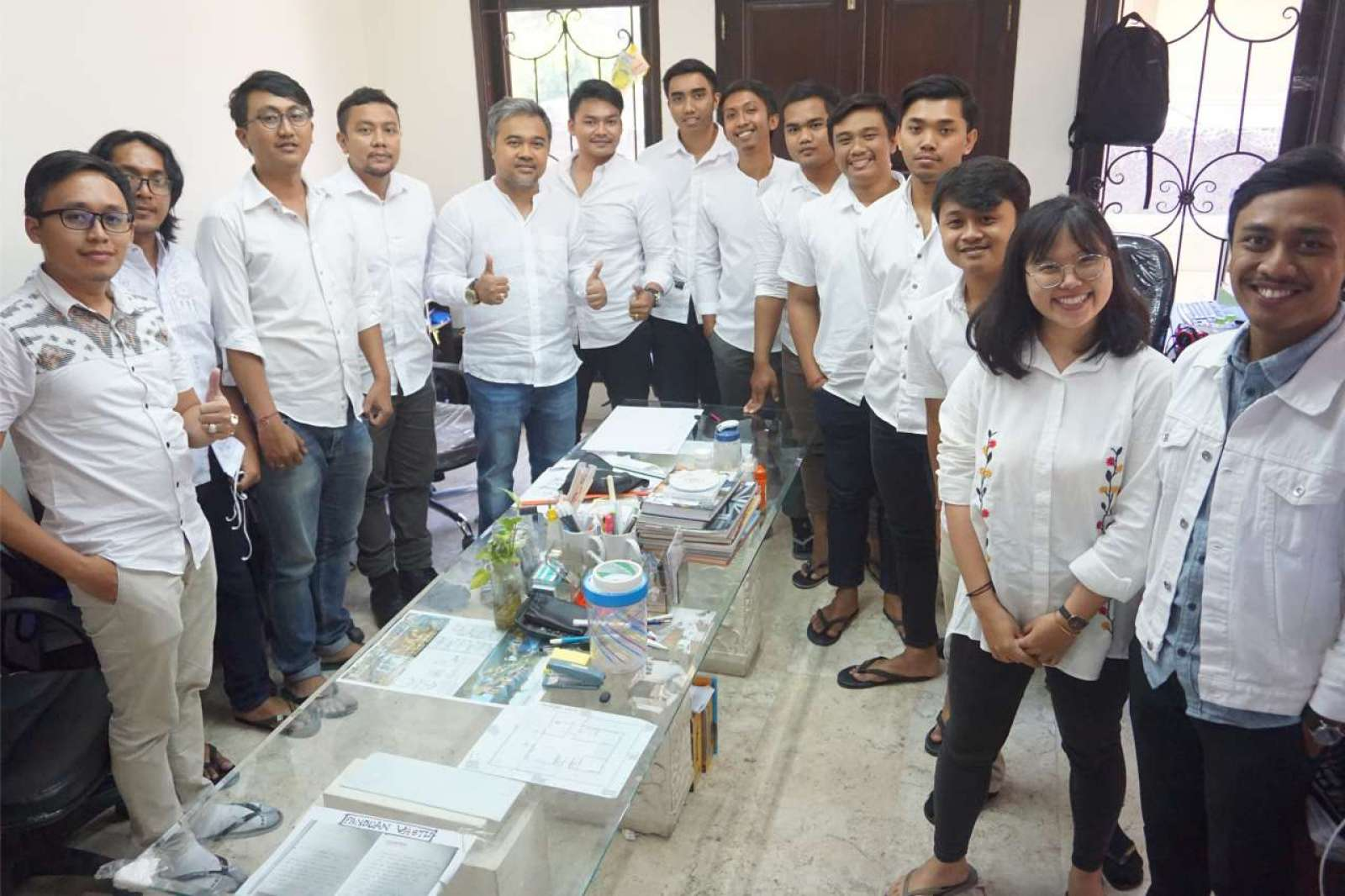 Photo with the Emporio Bali Architect Team Before Working From Home Because of the COVID-19 Virus Pa 4