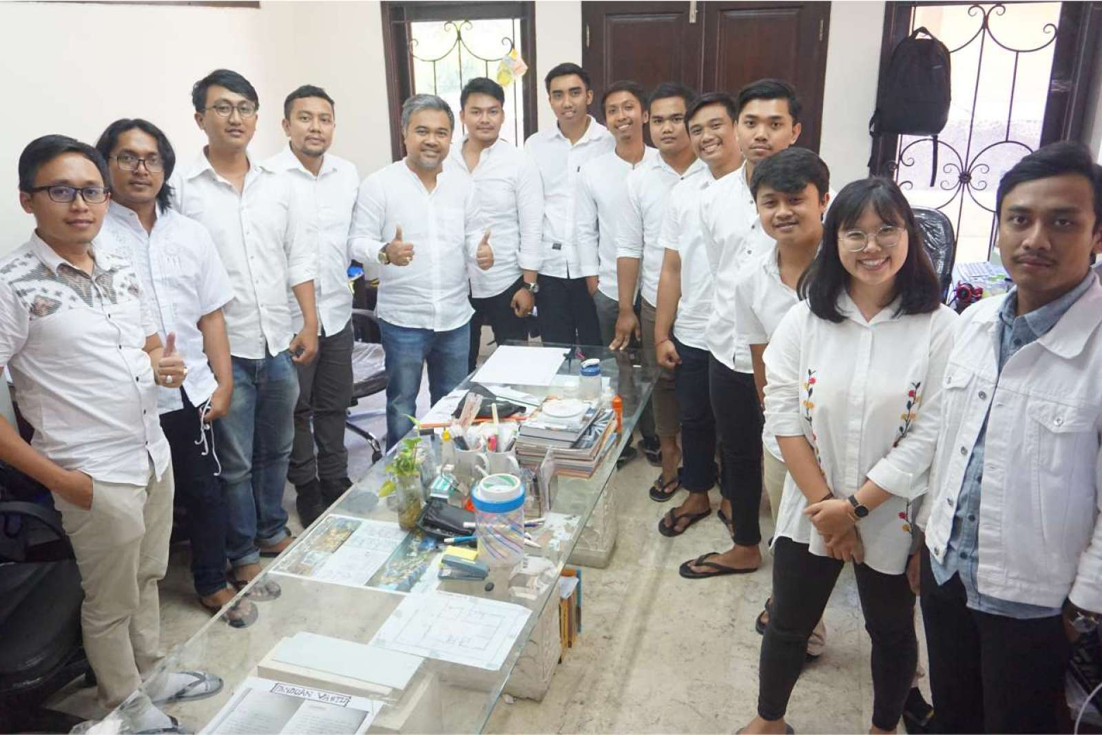 Photo with the Emporio Bali Architect Team Before Working From Home Because of the COVID-19 Virus Pa 5