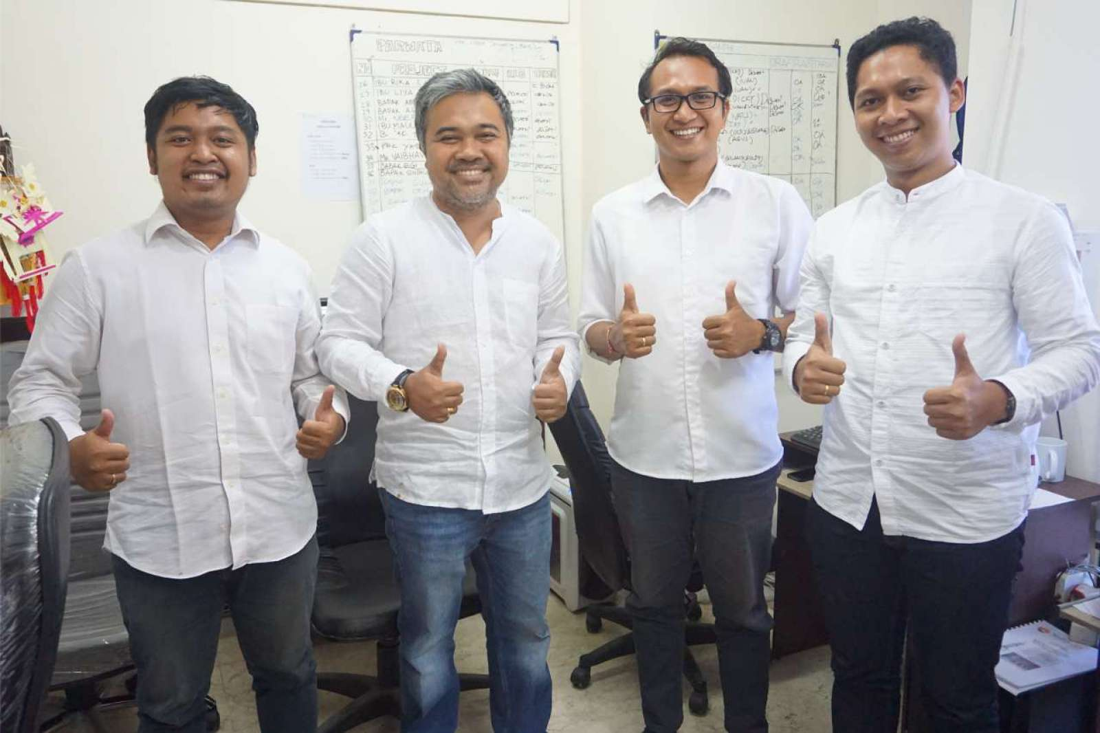 Photo with the Emporio Bali Architect Team Before Working From Home Because of the COVID-19 Virus Pa 6