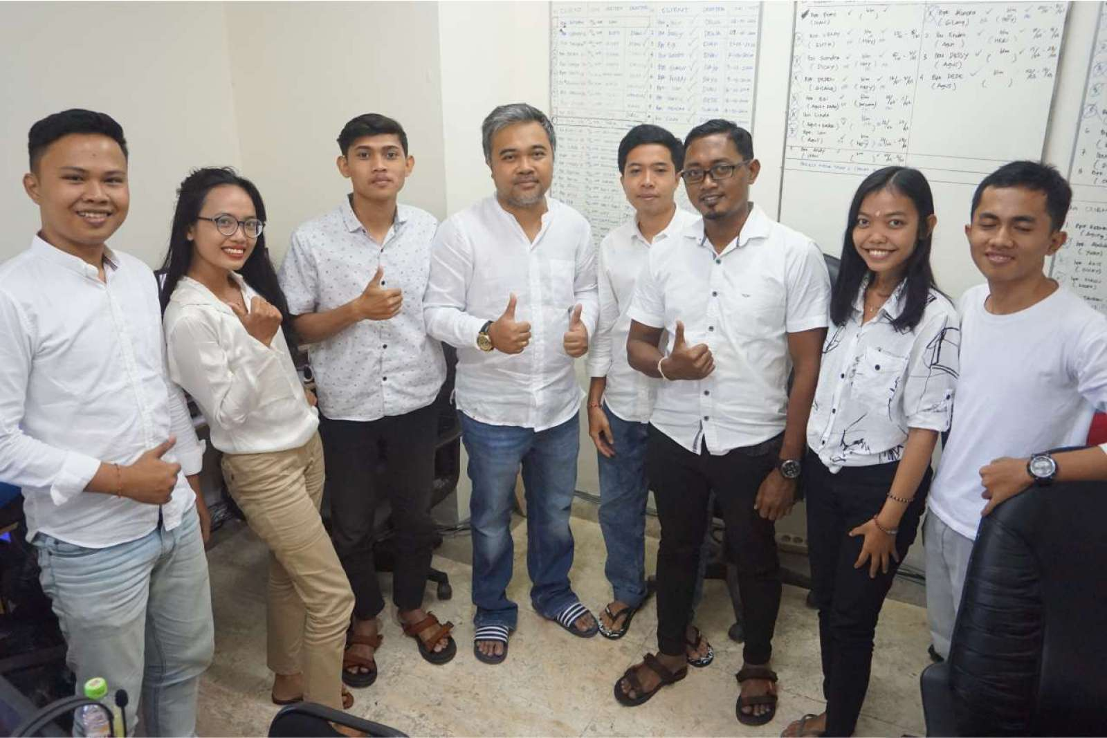 Photo with the Emporio Bali Architect Team Before Working From Home Because of the COVID-19 Virus Pa 7