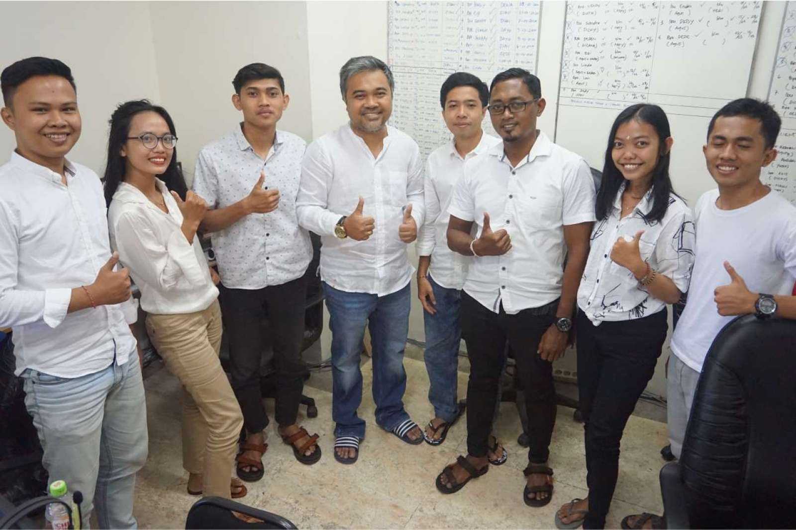 Photo with the Emporio Bali Architect Team Before Working From Home Because of the COVID-19 Virus Pa 8