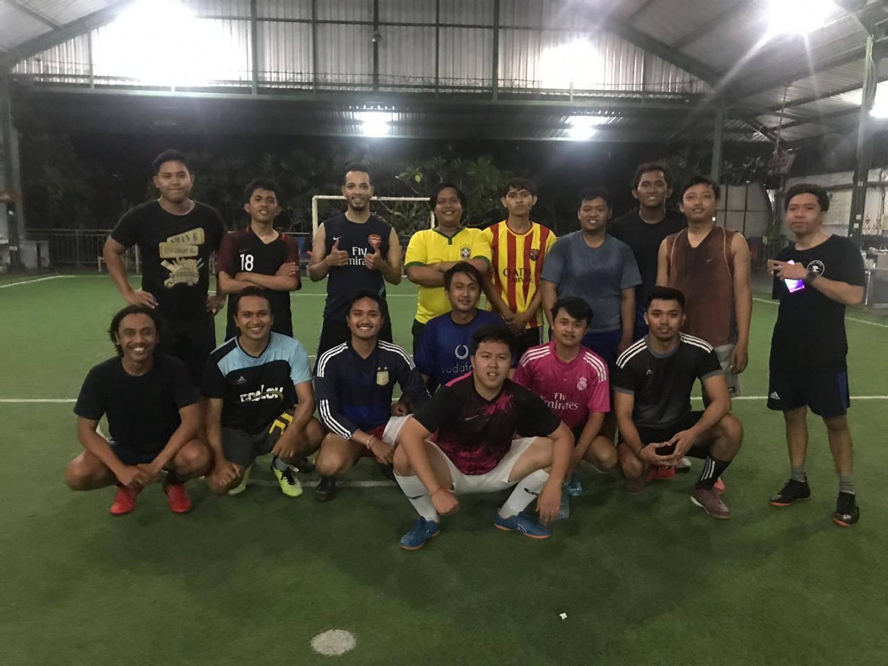 Futsal Activity of Emporio Architect Bali to boost stamina 1