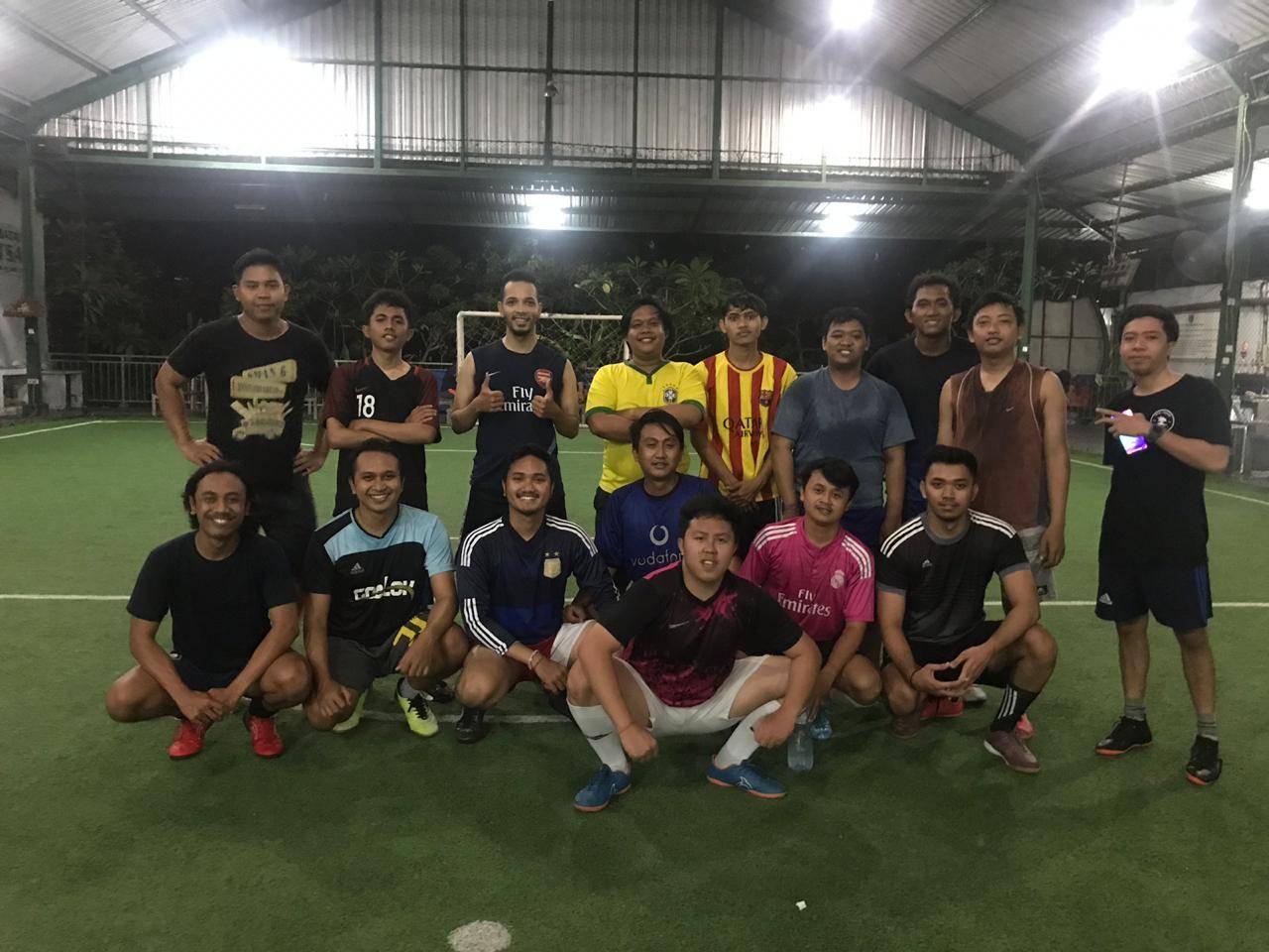 Futsal Activity of Emporio Architect Bali to boost stamina 2