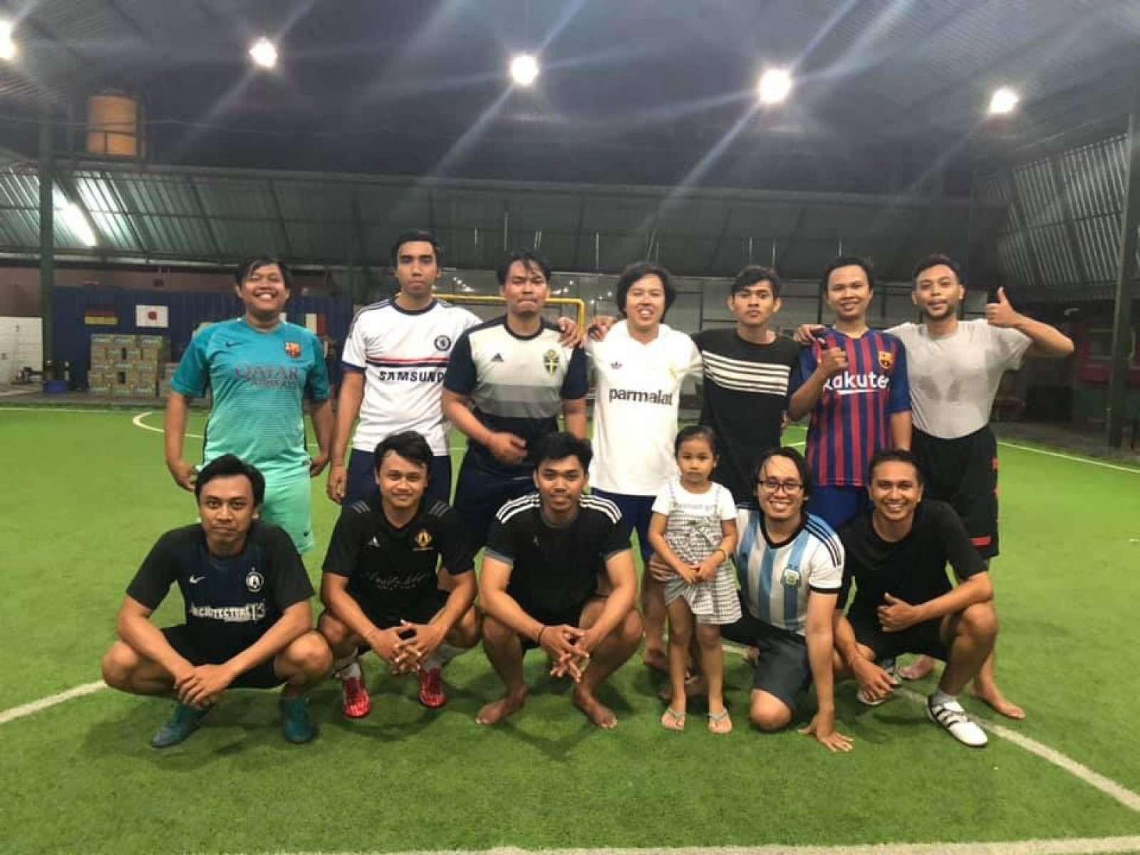 Futsal Session of Emporio Architect Bali's Team 4