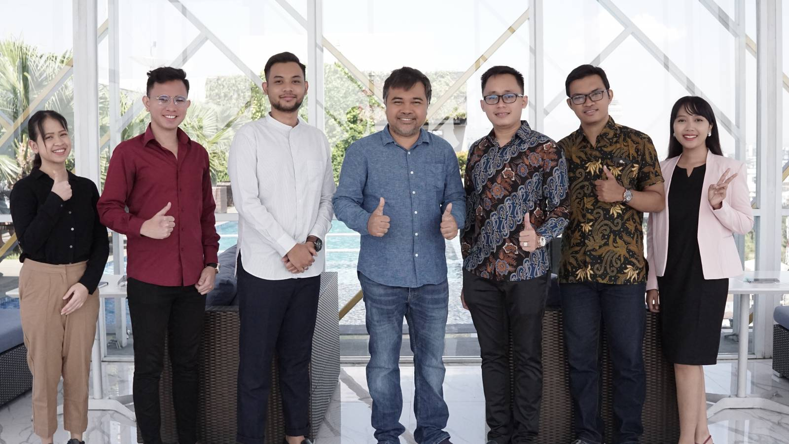 Owner Emporio Architect visit with Emporio Architect Bandung Team 8