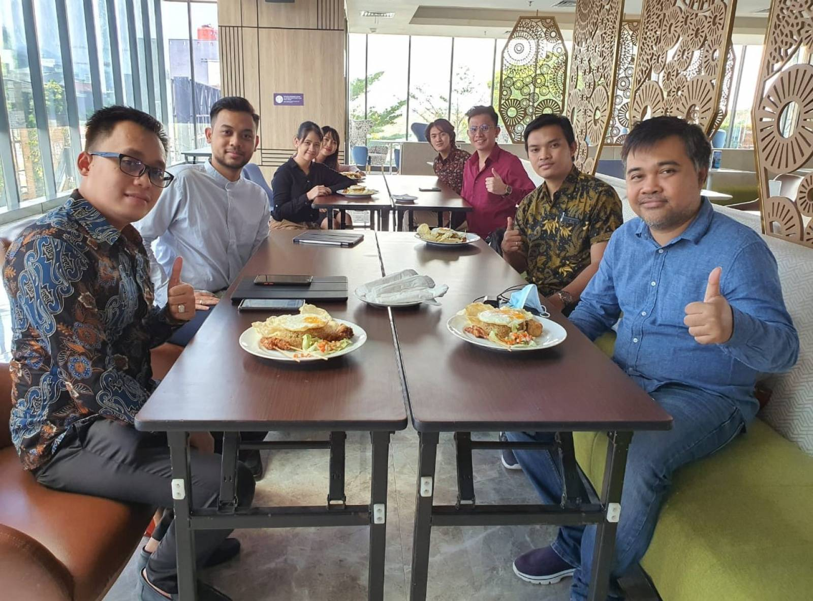Owner Emporio Architect visit with Emporio Architect Bandung Team 2