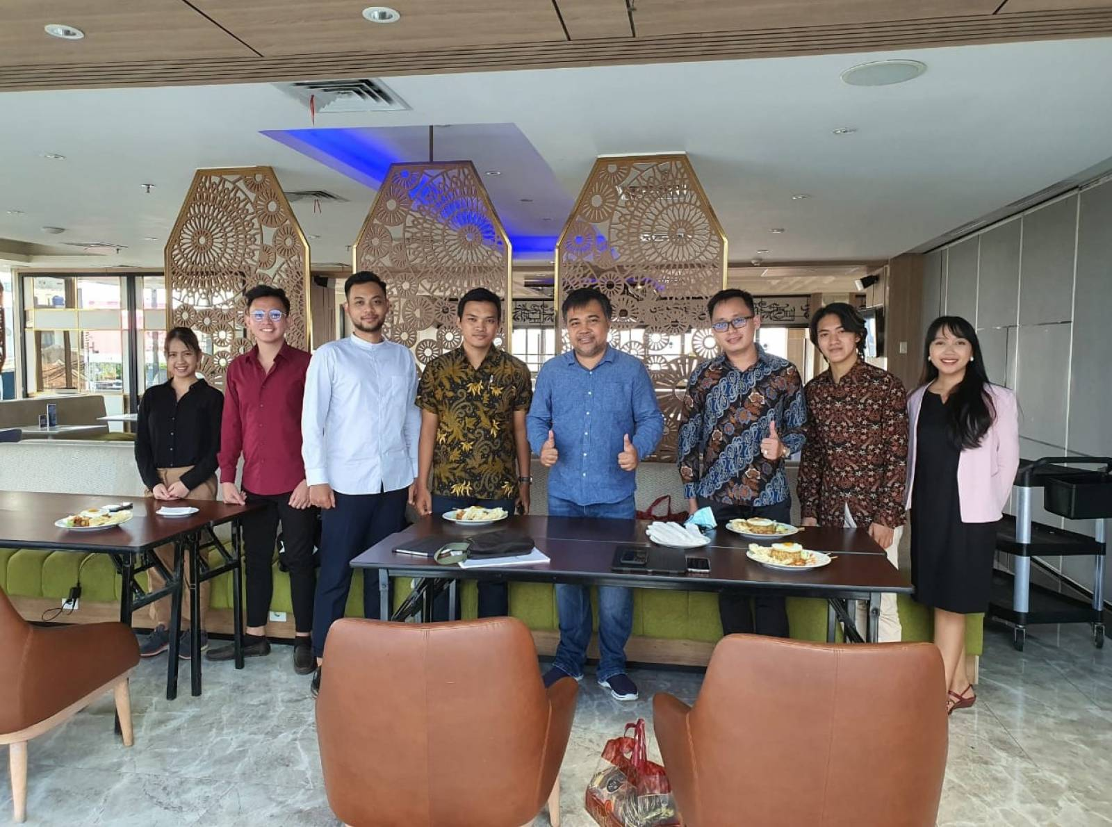 Owner Emporio Architect visit with Emporio Architect Bandung Team 3