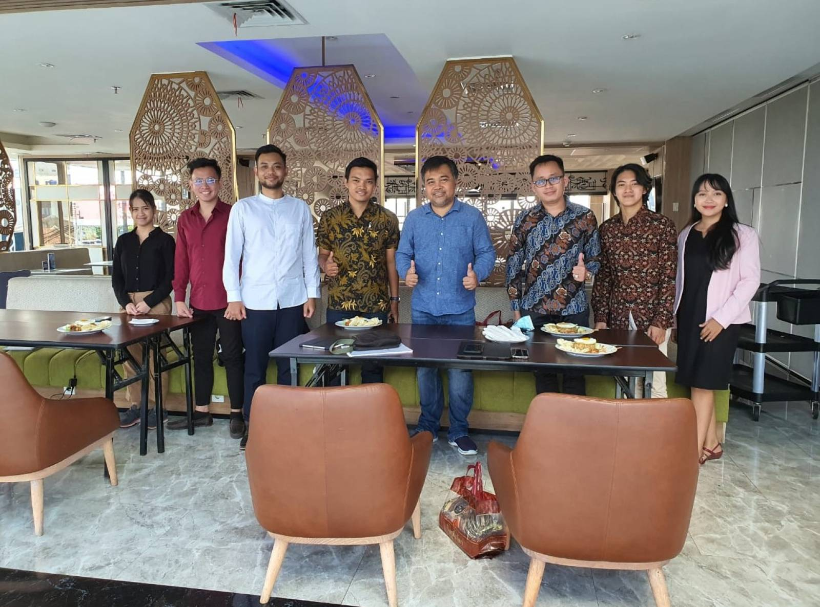 Owner Emporio Architect visit with Emporio Architect Bandung Team 4
