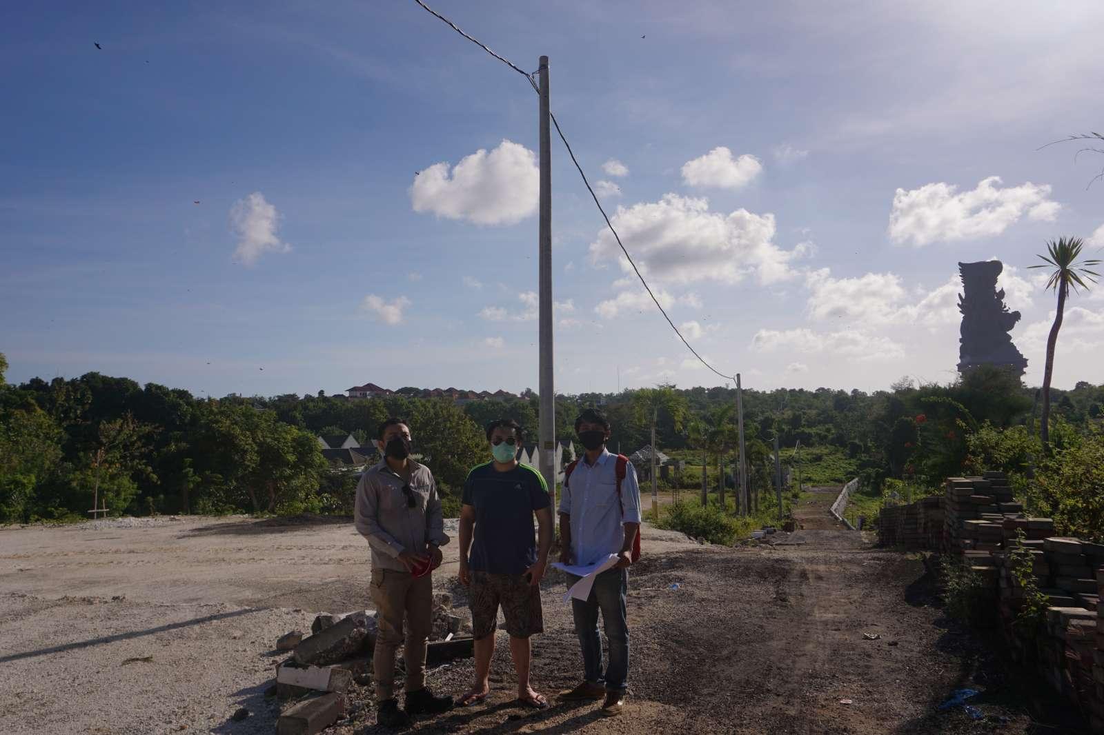 Survey Visit of Mr. Atong's Land - Bali 1