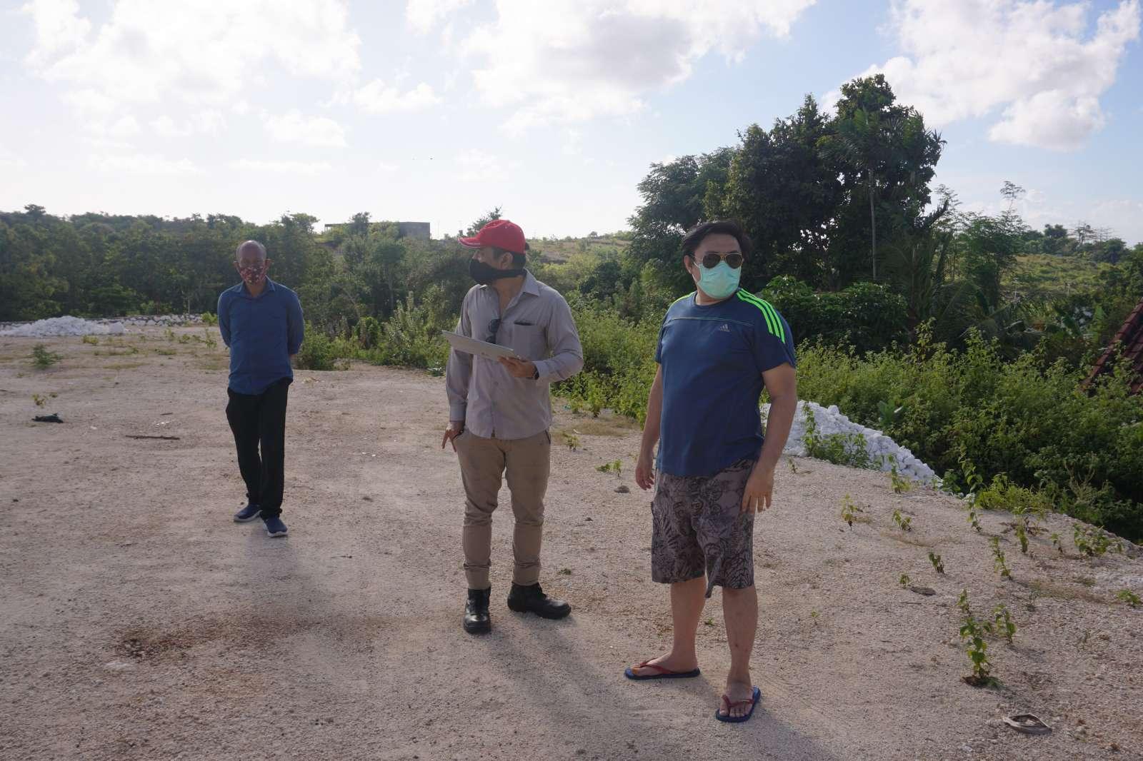 Survey Visit of Mr. Atong's Land - Bali 2