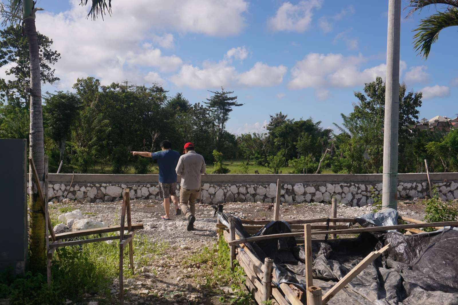 Survey Visit of Mr. Atong's Land - Bali 5