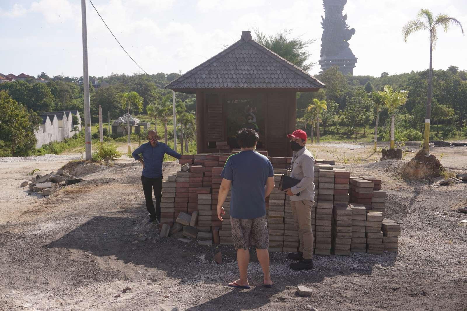 Survey Visit of Mr. Atong's Land - Bali 8