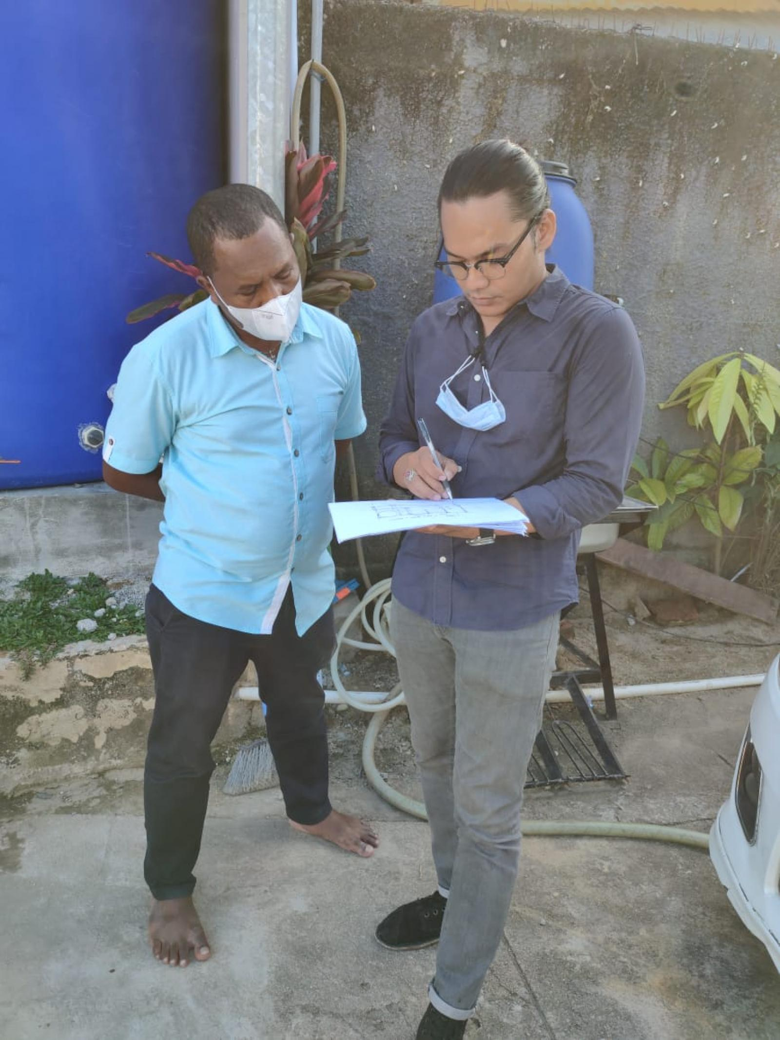 Architect Bali Team Visit to Mr Nonce Project in Papua 12