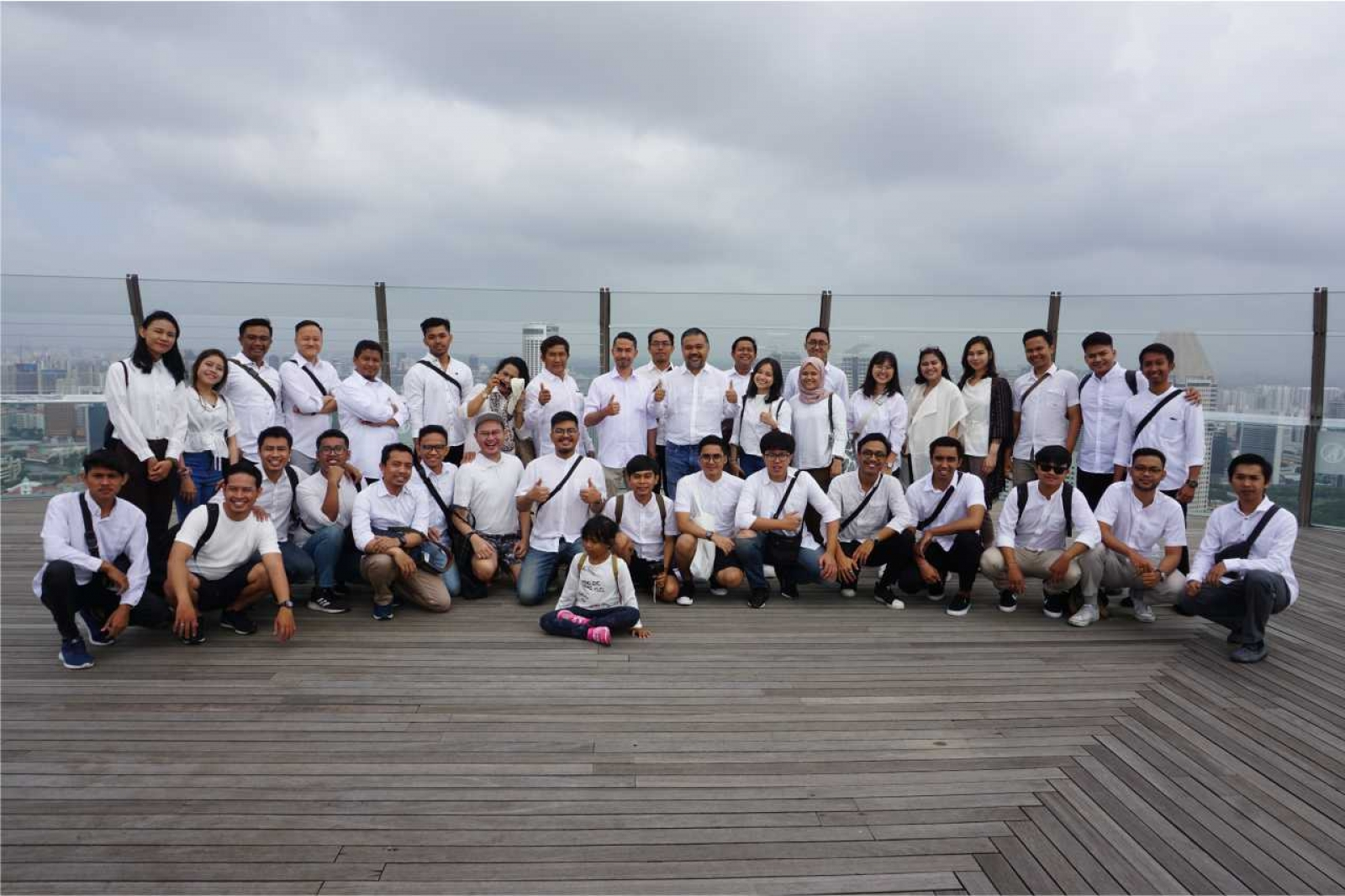 Emporio Architect Team Holiday End of Year in Singapore 4