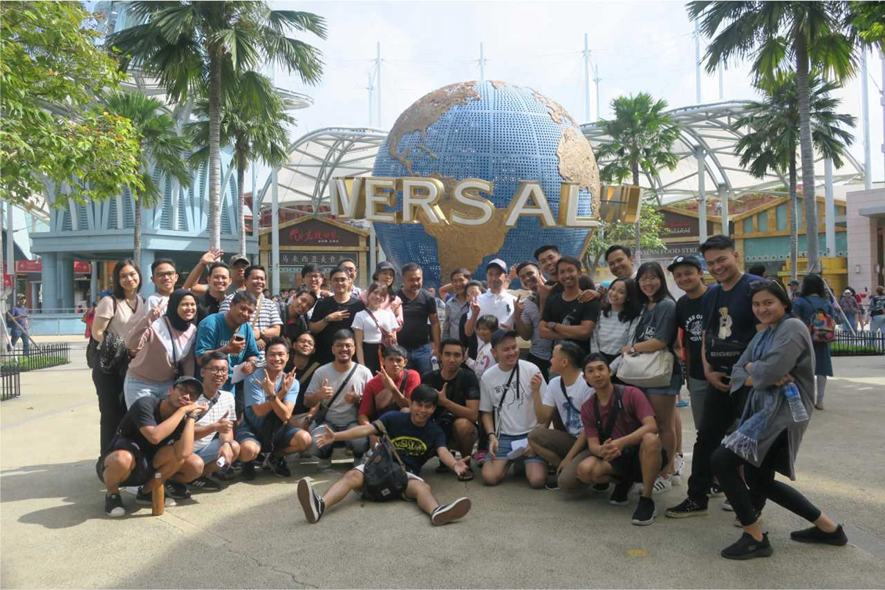Emporio Architect Team Holiday End of Year in Singapore 10