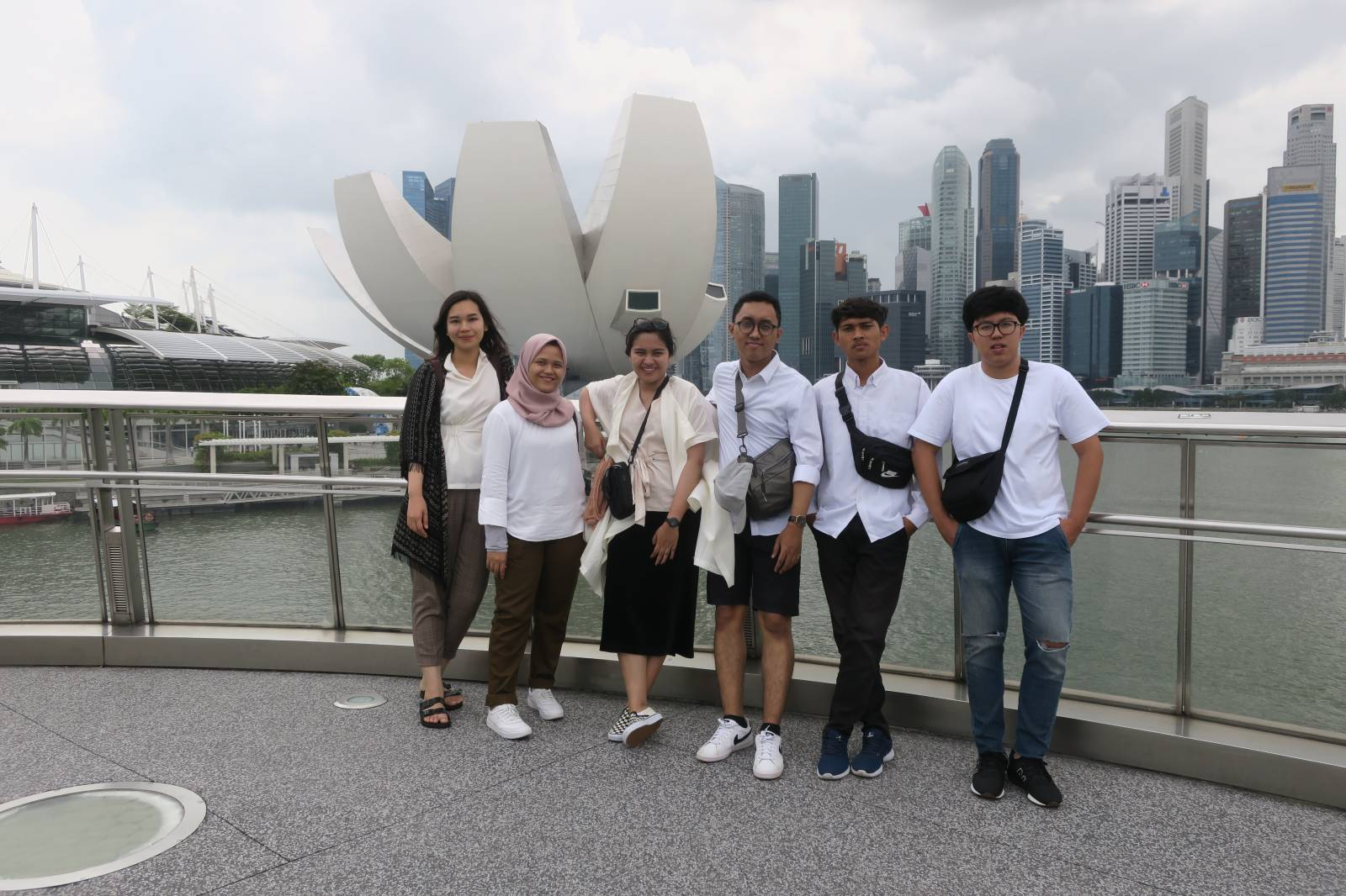 Emporio Architect Team Holiday End of Year in Singapore 9