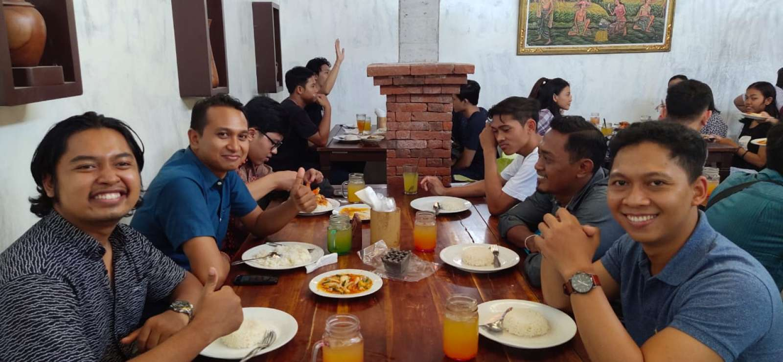 The Gathering of Emporio Architect Bali's Team at Kepiting Pan Kuncung 2