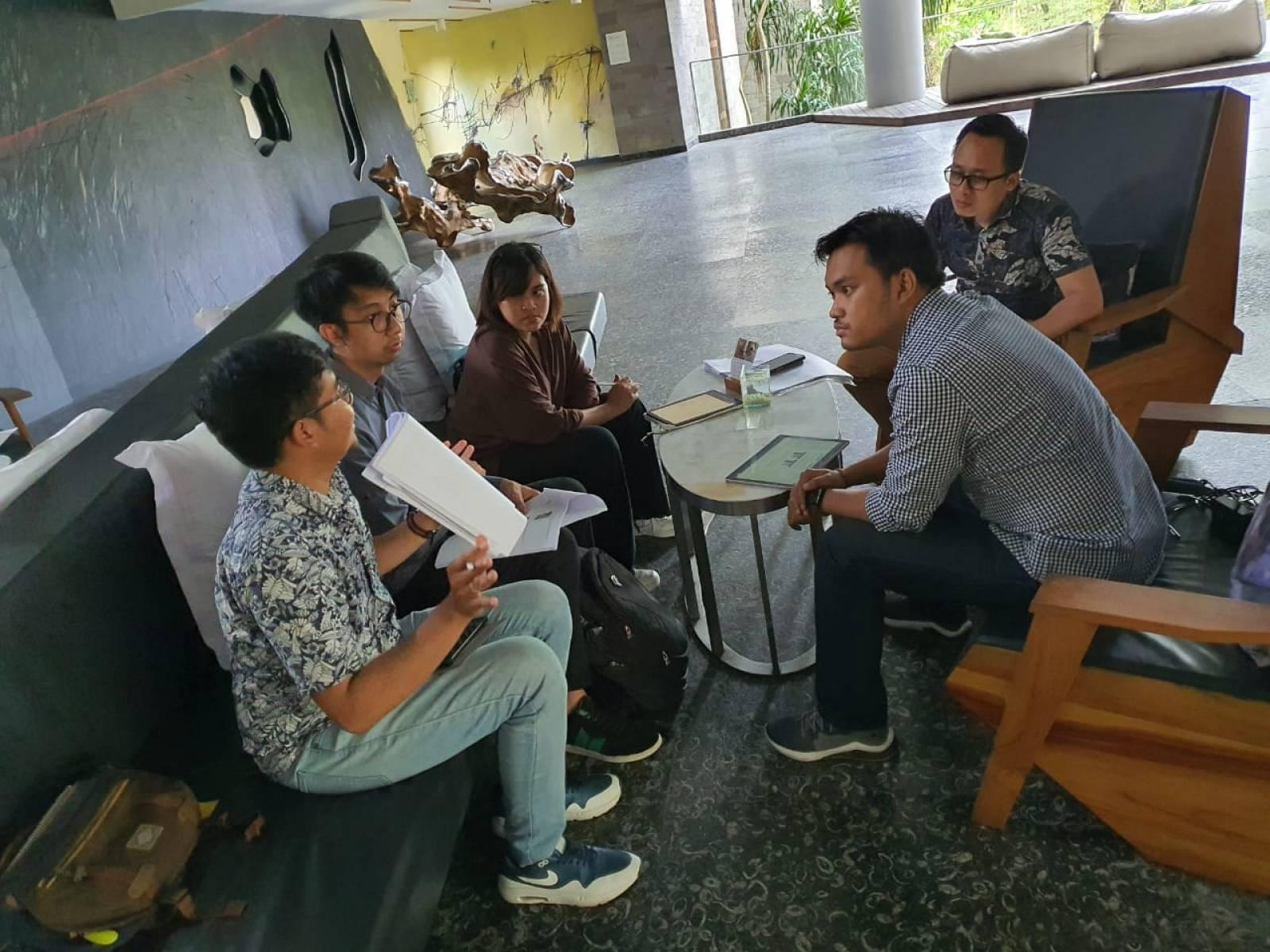 Meeting with the Emporio Architect Jogja Team at Maya Sanur Resort & Spa, Bali 6