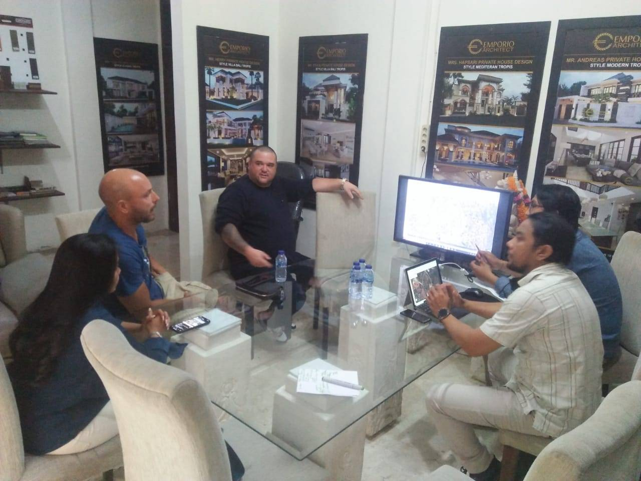Meeting with Clients Mr. Simon Husin 2