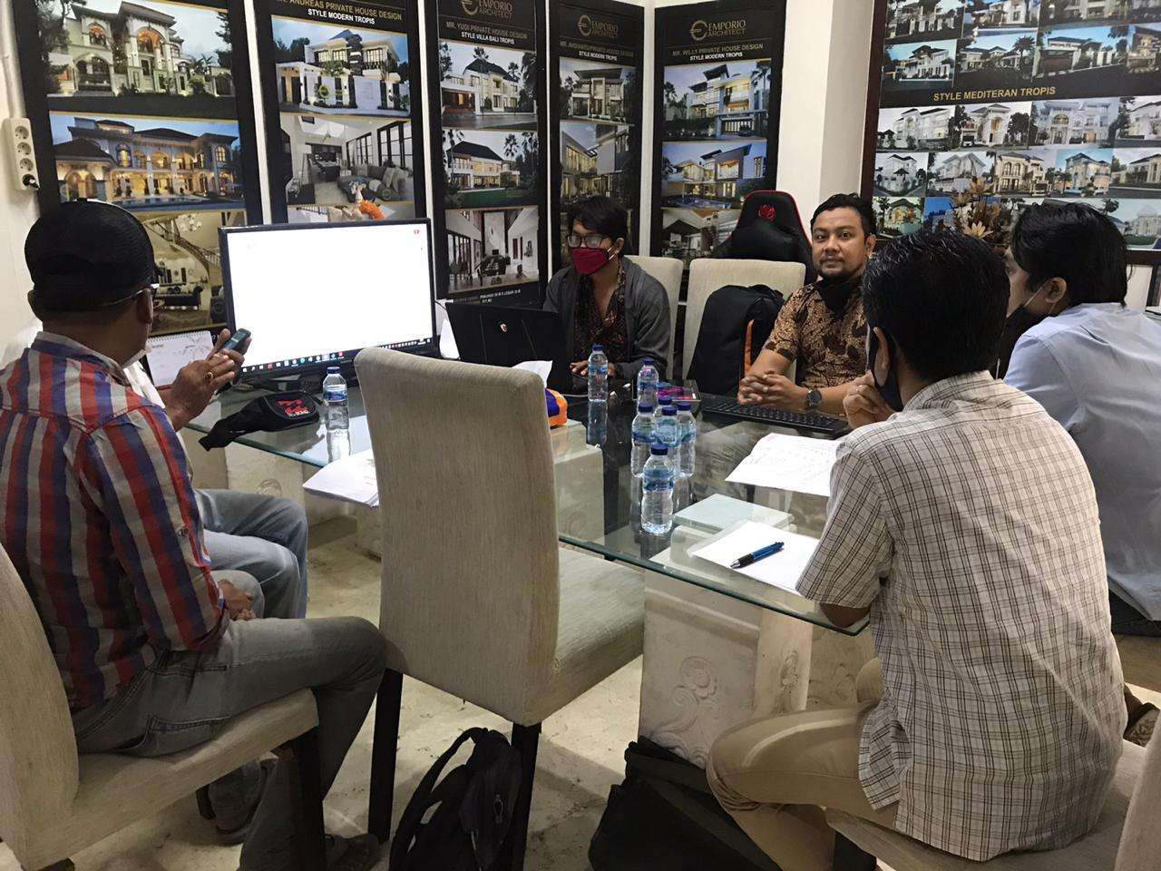 The Resort & Hotel Architect Team Meeting with the MEP Team 1