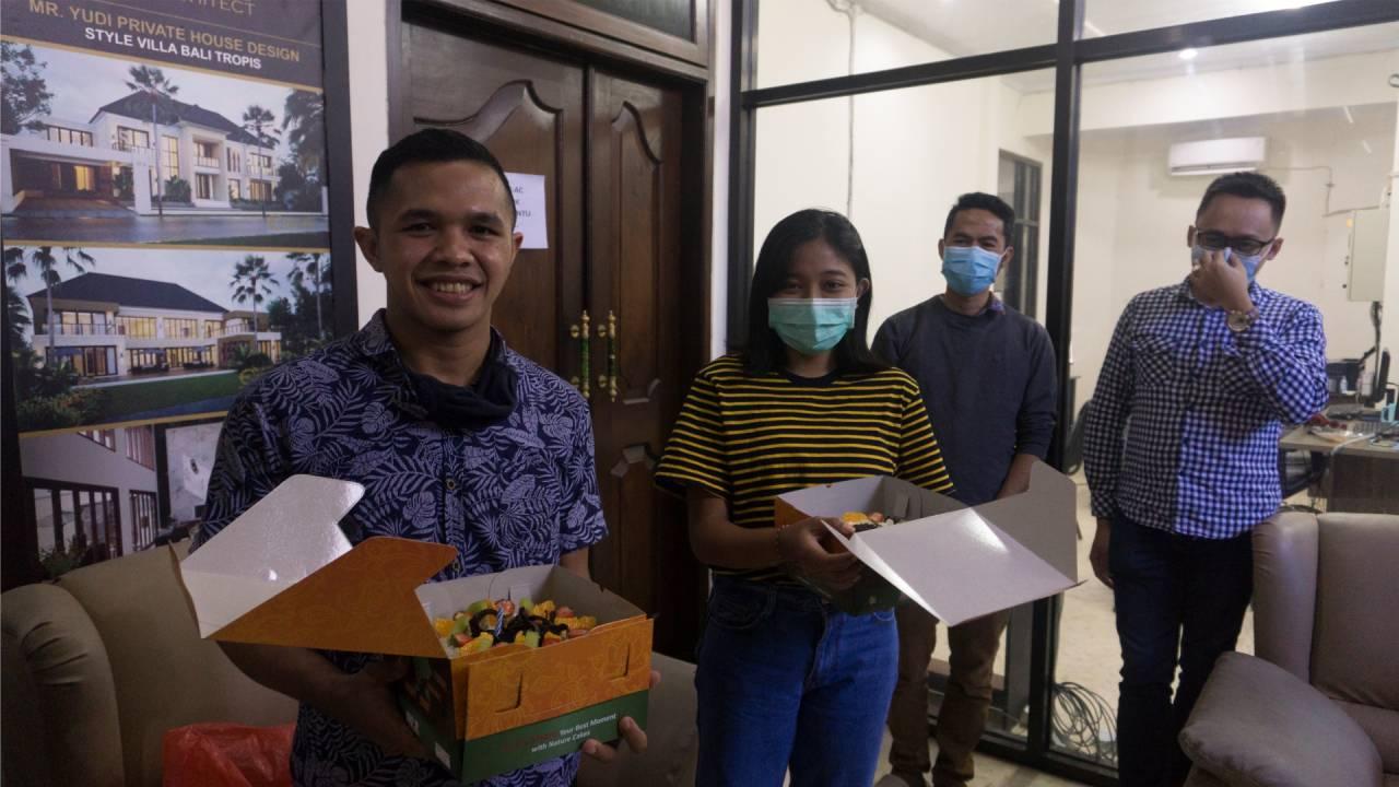 Birthday Celebration of Emporio Architect Bali's Team 1