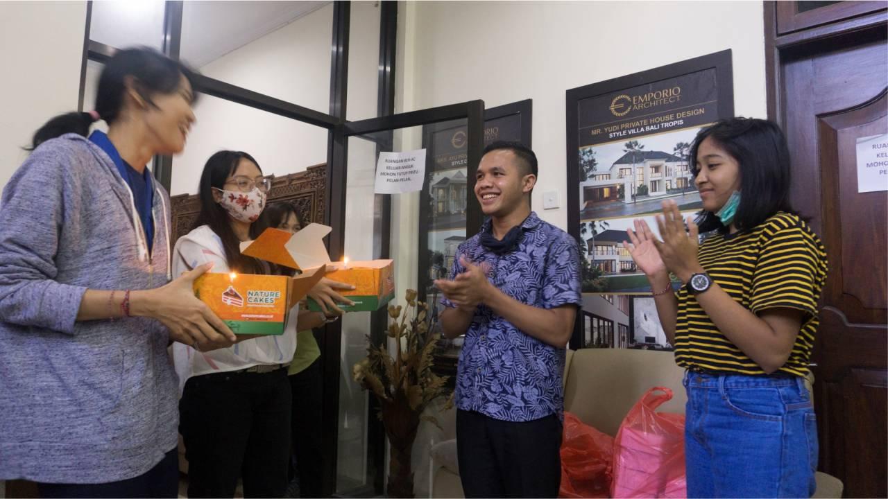 Birthday Celebration of Emporio Architect Bali's Team 2