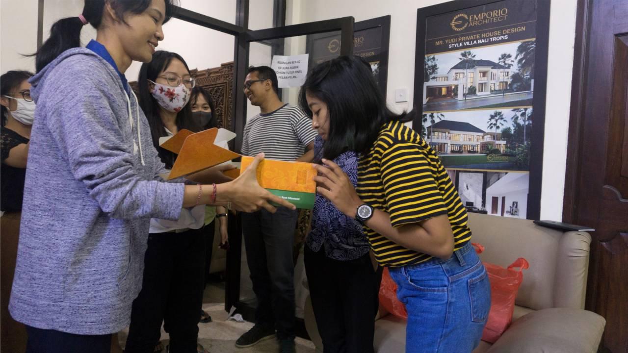 Birthday Celebration of Emporio Architect Bali's Team 4