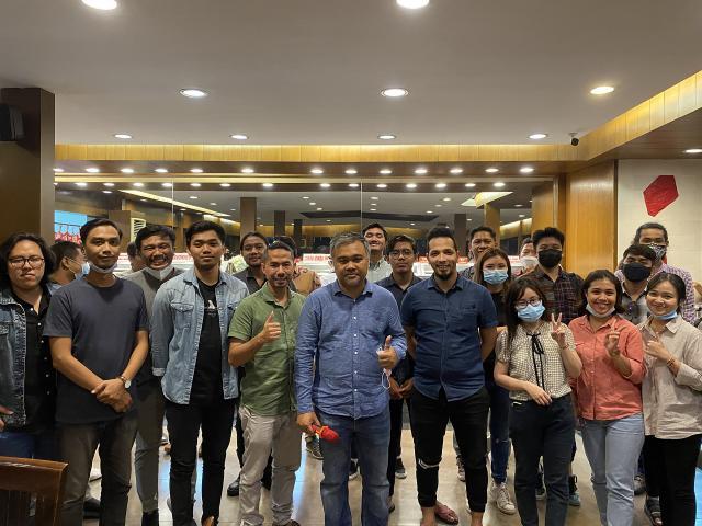 Acara Buka Puasa Bersama Tim Emporio Architect Bali di Hanamasa Restaurant Renon