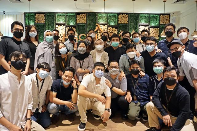 Acara Halal Bi Halal Bersama Tim Emporio Architect Jakarta di Hachi Grill Gatot Subroto Jakarta