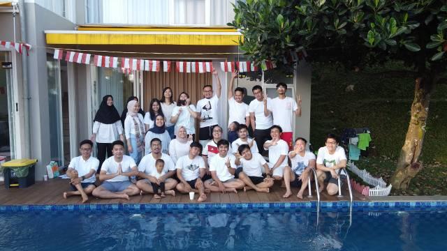 Acara Liburan Tim Jakarta di Bandung