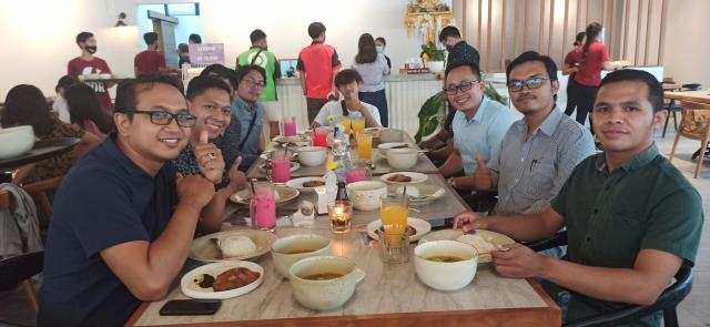 Acara Makan Bersama Tim Emporio Architect Bali di IGOR Renon