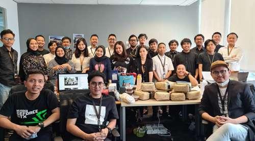 Acara Makan Bersama Tim Emporio Architect Kantor Jakarta New Normal