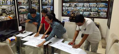 Activity Photos of Technical Drawing Check-Session by Bali office's Drafter Team