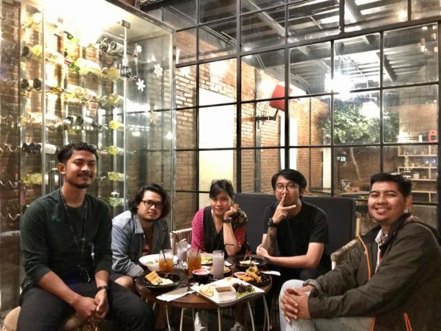 Gathering Tim Emporio Architect Jogja 2020