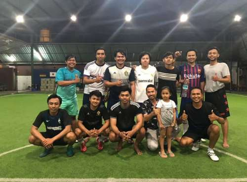 Futsal Session of Emporio Architect Bali's Team