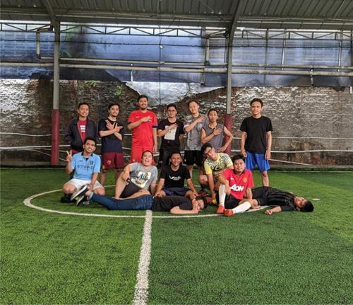 Kegiatan Futsal Tim Emporio Architect Jakarta