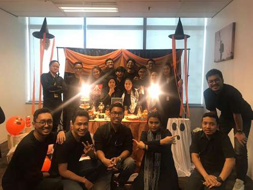 Hellowen Day Session of Emporio Architect Jakarta's team