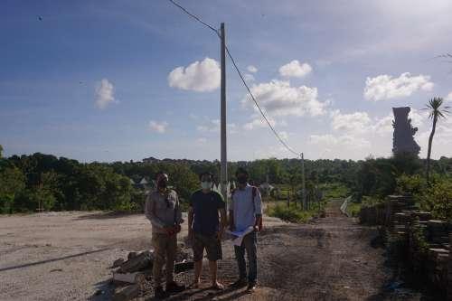 Kunjungan Survey Lahan Bapak Atong - Bali
