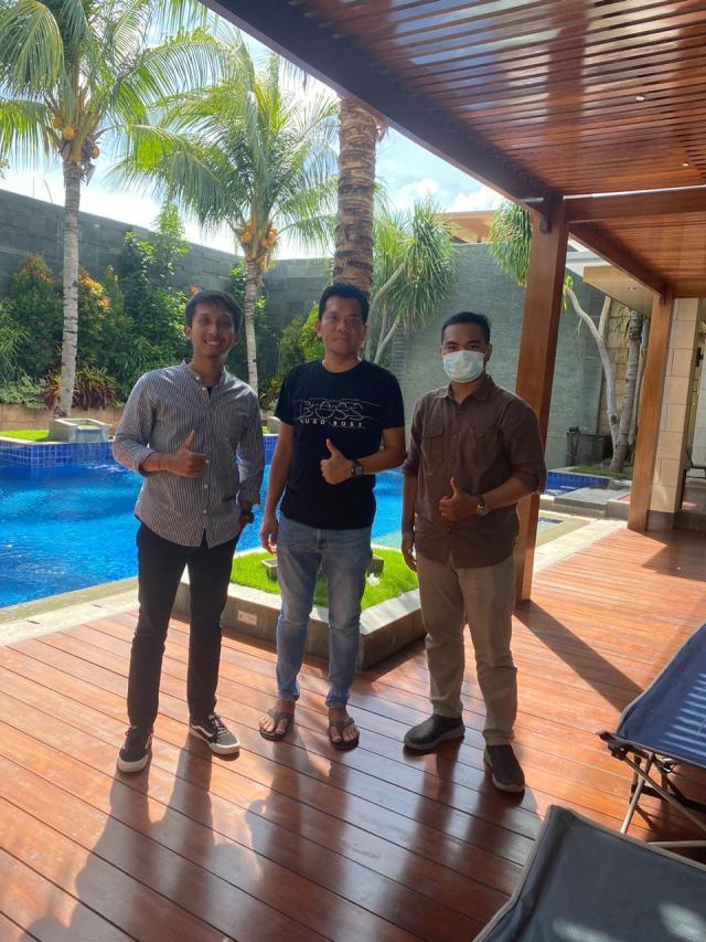 Kunjungan Tim Arsitek Bali ke Project Bapak Tonny di Kupang