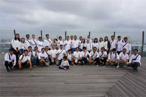Emporio Architect Team Holiday End of Year in Singapore