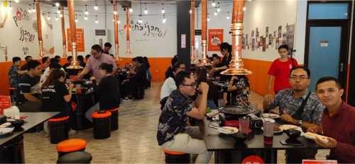 Makan Bersama di Phochajjang Korean BBQ di Renon, Denpasar, Bali