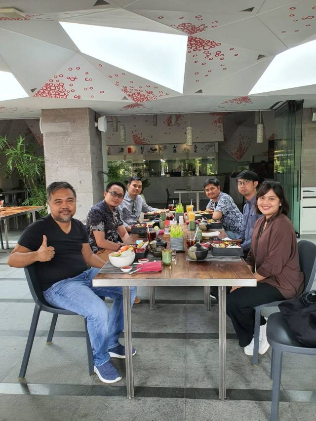 Meeting with the Emporio Architect Jogja Team at Maya Sanur Resort & Spa, Bali